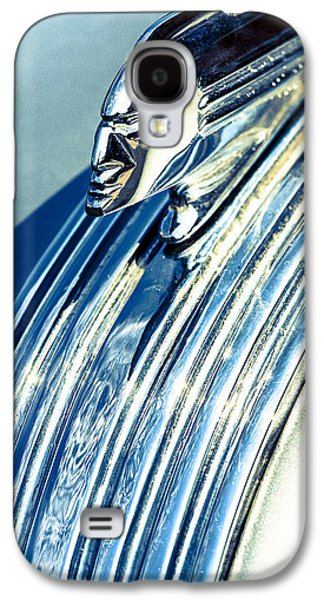 Profile In Chrome II Galaxy S4 Case by Caitlyn  Grasso