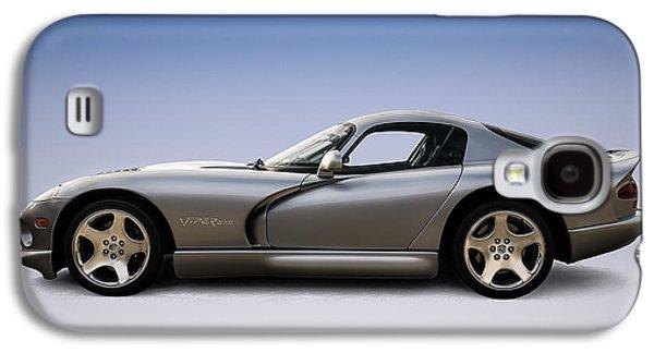 Viper Galaxy S4 Case - Silver Viper by Douglas Pittman