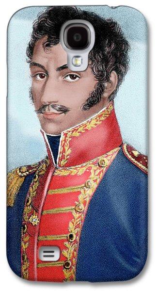 Simon Bolivar (caracas, 1793-santa Galaxy S4 Case by Prisma Archivo