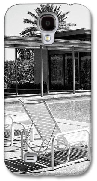 Sinatra Pool Bw Palm Springs Galaxy S4 Case by William Dey