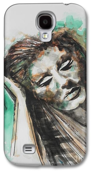 Singer Adele 02 Galaxy S4 Case by Chrisann Ellis