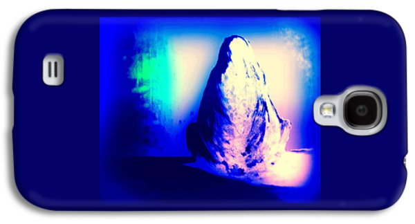 Just Sitting Here Alone Singin Blues All Night  Galaxy S4 Case by Hilde Widerberg