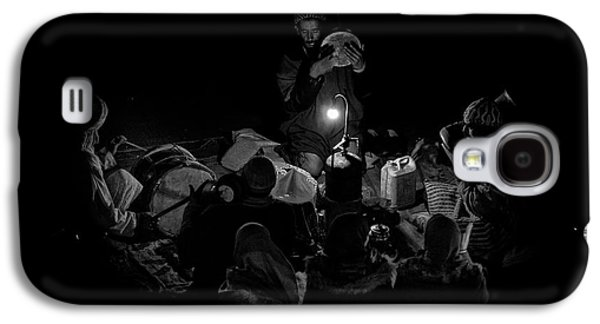 Drum Galaxy S4 Case - Singing To The Night by Angel Bernaldo De