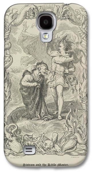 Sintram And The Little Master Galaxy S4 Case by British Library