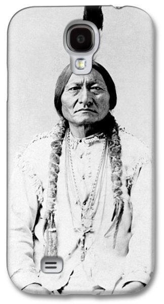 Bull Galaxy S4 Case - Sioux Chief Sitting Bull by War Is Hell Store
