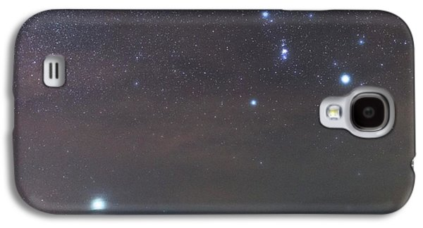 Sirius Rising With Orion Galaxy S4 Case