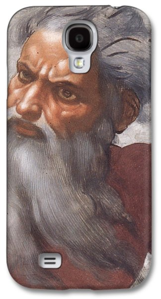 Sistine Chapel Ceiling Creation Of The Sun And Moon Galaxy S4 Case by Michelangelo Buonarroti