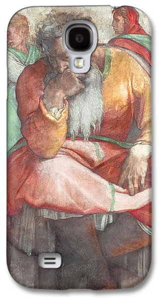 Sistine Chapel Ceiling The Prophet Jeremiah Pre Resoration Galaxy S4 Case