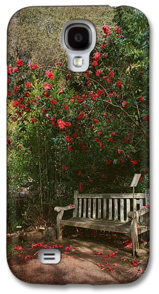 Sit With Me Here Galaxy S4 Case by Laurie Search