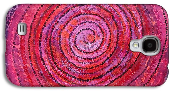 Sits In The Middle And Knows Original Painting Galaxy S4 Case