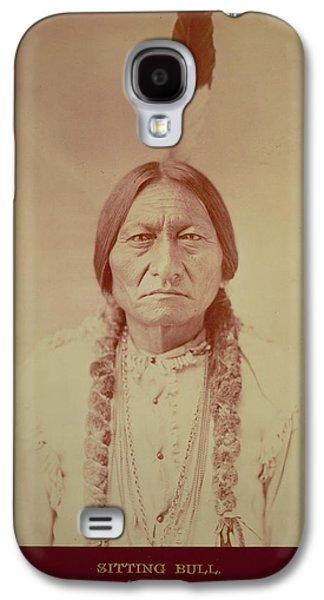 Sitting Bull, Sioux Chief, C.1885 Bw Photo Galaxy S4 Case