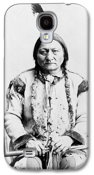 Sitting Bull Galaxy S4 Case by War Is Hell Store