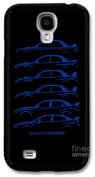 Six Stars Silhouettehistory Galaxy S4 Case