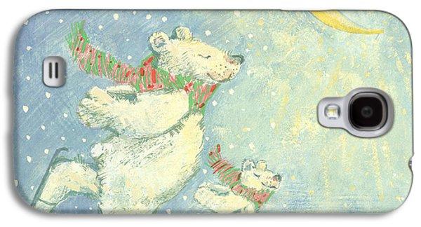 Skating Polar Bears Galaxy S4 Case