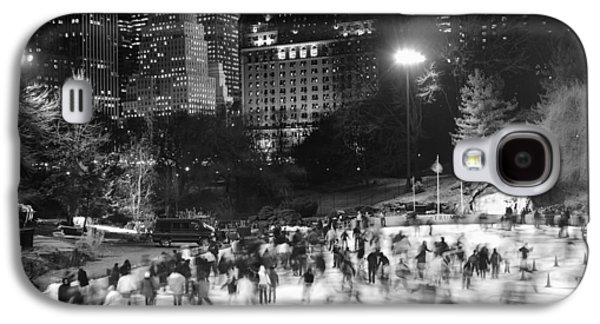 New York City - Skating Rink - Monochrome Galaxy S4 Case