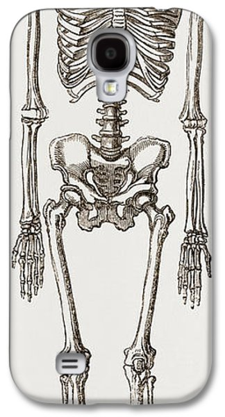 Skeleton Of Man Galaxy S4 Case