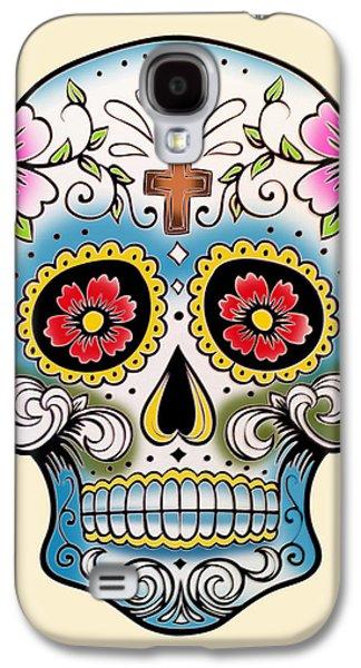 Skull 10 Galaxy S4 Case