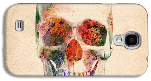 Skull 12 Galaxy S4 Case by Mark Ashkenazi