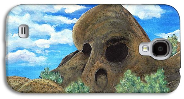Skull Rock Galaxy S4 Case by Anastasiya Malakhova