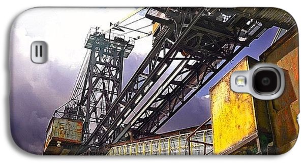Detail Galaxy S4 Case - #sky #architecture #industrie #summer by Phil Grubers