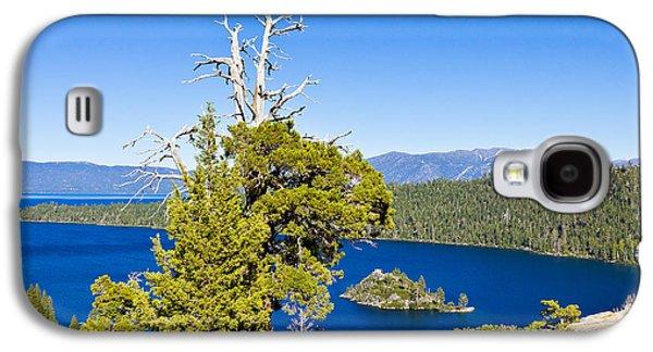 Sky Blue Water - Emerald Bay - Lake Tahoe Galaxy S4 Case