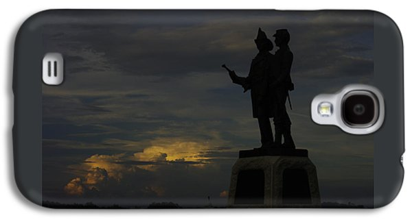 Sky Fire - 73rd Ny Infantry 4th Excelsior 2nd Fire Zouaves - Summer Evening Thunderstorms Gettysburg Galaxy S4 Case by Michael Mazaika