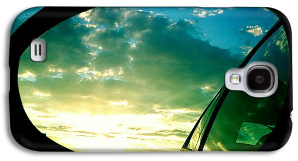 Light Galaxy S4 Case - Sky In The Rear Mirror by Matthias Hauser