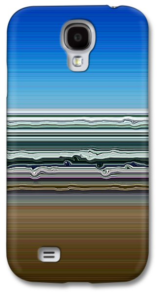 Sky Water Earth Galaxy S4 Case by Michelle Calkins