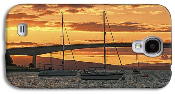 Skye Bridge Sunset Galaxy S4 Case