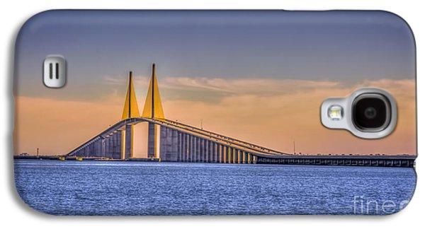 Skyway Bridge Galaxy S4 Case by Marvin Spates