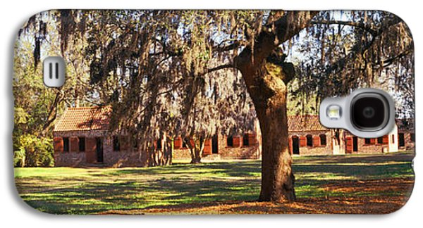 Slave Quarters, Boone Hall Plantation Galaxy S4 Case by Panoramic Images