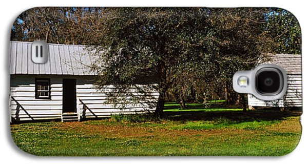 Slave Quarters, Magnolia Plantation And Galaxy S4 Case by Panoramic Images