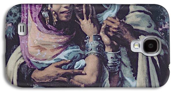Slave To Love Galaxy S4 Case by Alphonse Etienne Dinet
