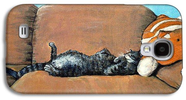 Sleeping Cat Galaxy S4 Case