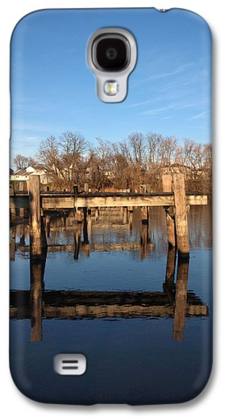 Sleepy Docks Galaxy S4 Case by Joshua House