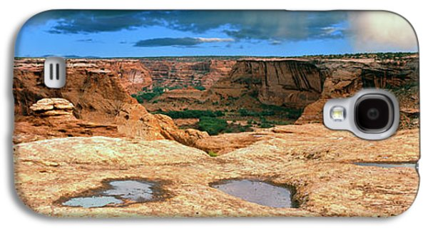 Slickrock Waterpocket Pools Reflect Galaxy S4 Case by Panoramic Images