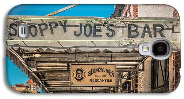 Sloppy Joe's Bar Canopy Key West - Hdr Style Galaxy S4 Case by Ian Monk