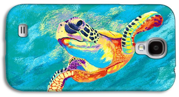 Turtle Galaxy S4 Case - Slow Ride by Kevin Putman