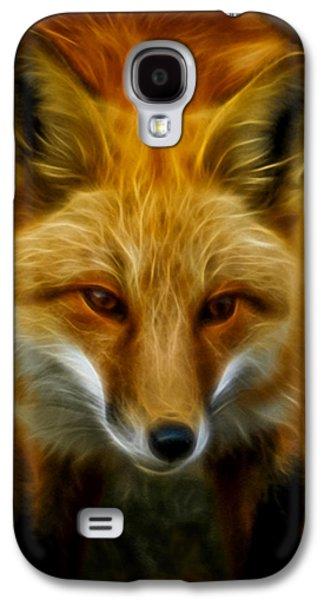 Sly Fox Galaxy S4 Case by Ernie Echols