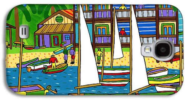 Small Boat Regatta - Cedar Key Galaxy S4 Case