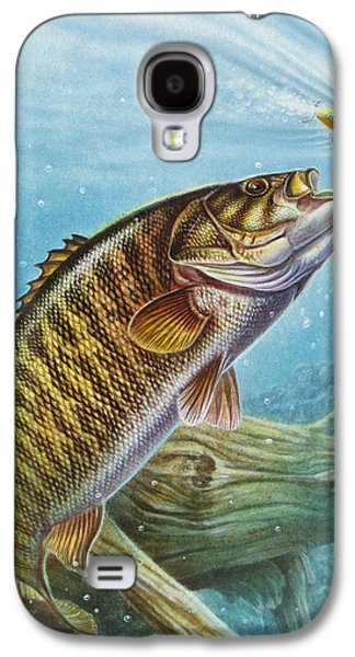 Smallmouth Bass Galaxy S4 Case by JQ Licensing