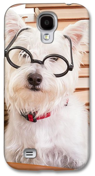 Smart Doggie Galaxy S4 Case by Edward Fielding