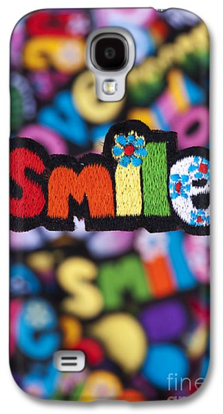 Smile Galaxy S4 Case by Tim Gainey