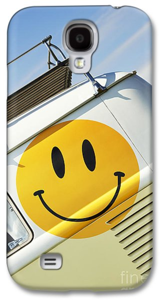 Smiley Face Vw Campervan Galaxy S4 Case