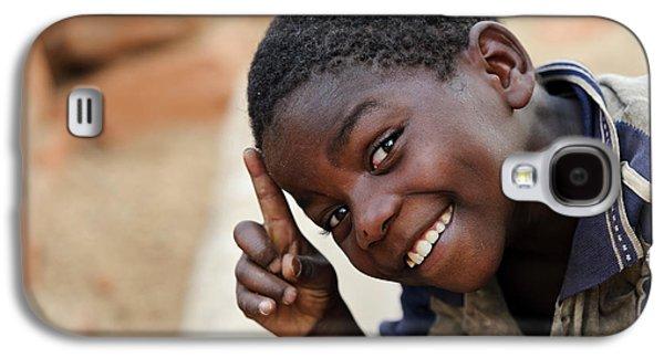 Smiling Boy Galaxy S4 Case by Matthew Oldfield