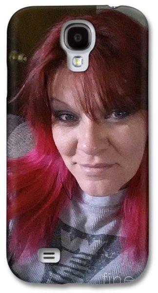 Smiling Eyes Galaxy S4 Case by Angela Pelfrey