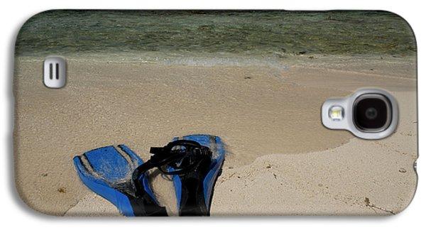 Snorkel Set On The Beach, Caribbean Galaxy S4 Case