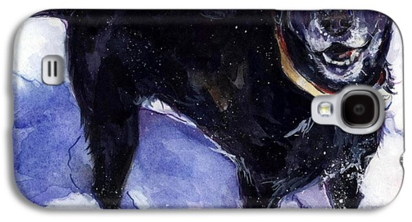 Snow Belle Galaxy S4 Case by Molly Poole