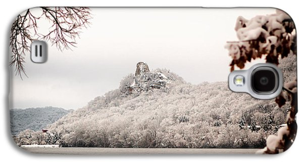 Snow Covered Sugarloaf Galaxy S4 Case by Al  Mueller