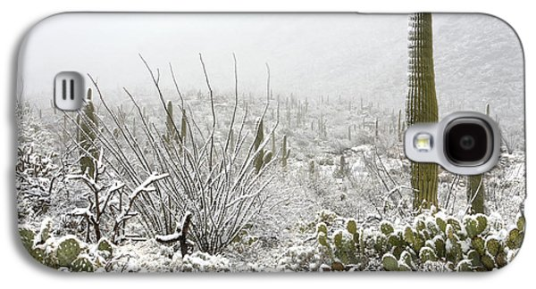 Snow Day In The Desert  Galaxy S4 Case